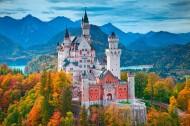 德国新天鹅城堡风景图片(8张)