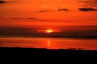 青海湖日出风景图片(9张)