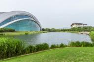 上海视觉艺术学院校园风景图片(16张)