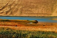 内蒙古巴丹吉林沙漠风景图片(14张)