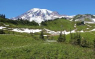 美国雷尼尔山国家公园风景图片(12张)