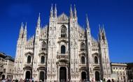 意大利米兰大教堂风景图片(16张)