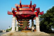 湖北武汉黄鹤楼风景图片(13张)