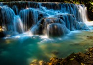 老挝琅勃拉邦光西瀑布图片(8张)