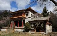西藏措宗寺风景图片(6张)