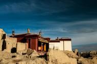 西藏古格王国遗址风景图片(6张)