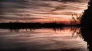 德国多瑙河日落风景图片(14张)