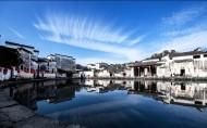 冬天徽州风景图片(9张)