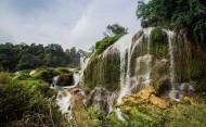 广西德天瀑布风景图片(5张)