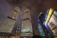 上海繁华夜景图片(7张)