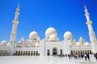 阿联酋阿布扎比大清真寺图片(10张)