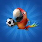 可爱的3D鹦鹉图片(11张)