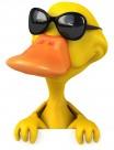 3D小黄鸭图片(10张)