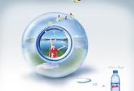 矿泉水广告创意图片(2张)