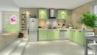 现代厨房装修设计图片(10张)