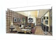 广州爱丁堡国际公寓室内手绘稿图片(23张)