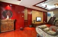 新中式风格室内设计-郑军作品图片(16张)