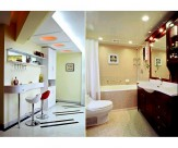 黄色系卫生间设计图片(9张)