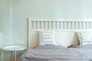 舒适柔软的双人床图片(10张)