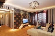 武汉清扬六和样板房室内设计图片(15张)