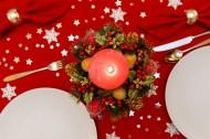 圣诞节餐桌装饰图片(12张)