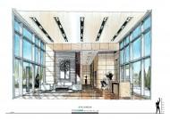 广州中海珠江新城K2室内手绘图片(15张)
