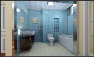 清新蓝色系卫生间设计图片(5张)