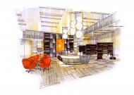 苏州合景室内设计手绘图片(3张)