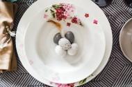 复活节装饰的餐桌图片(10张)