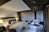豪华卧室双人床图片(24张)