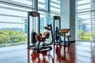 宽敞明亮的健身房图片(11张)