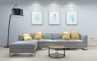 简洁沙发陈列图片(10张)