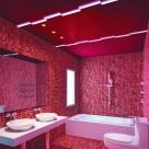 热情红色系卫生间设计图片(7张)