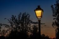 复古的路灯图片(15张)