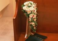 婚礼玫瑰插花图片(8张)