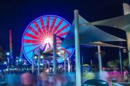 摩天轮夜景图片(11张)