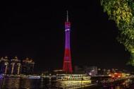 广州塔小蛮腰夜景图片(11张)