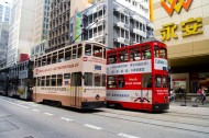 香港电车图片(16张)