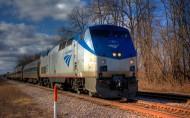 美国国铁客运火车图片(28张)