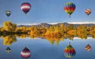 唯美热气球图片(18张)