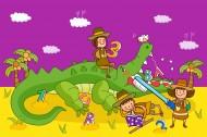 卡通儿童世界矢量图片(50张)
