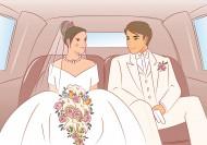 婚礼情景卡通矢量图片(33张)