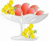 卡通水果矢量图片(8张)