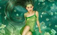 美女CG插画图片(26张)