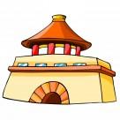 中国特色建筑卡通图片(329张)