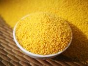 金色的农家小米图片(25张)