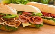 卖相超级好的三明治图片(10张)