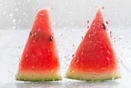切成块的清凉西瓜图片(10张)