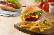 诱人的汉堡图片(6张)