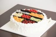 好吃的鲜奶生日蛋糕图片(11张)